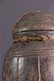 Pots, jarres, callebasses, urnesBoite à souris Baoule
