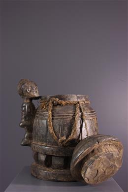 Boîte à oracles Gbékré sé Baoulé