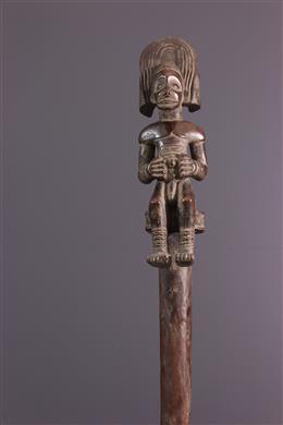 Bâton de commandement Tshokwe