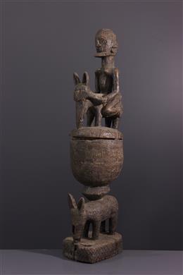 Art africain - Coupe cérémonielle Dogon