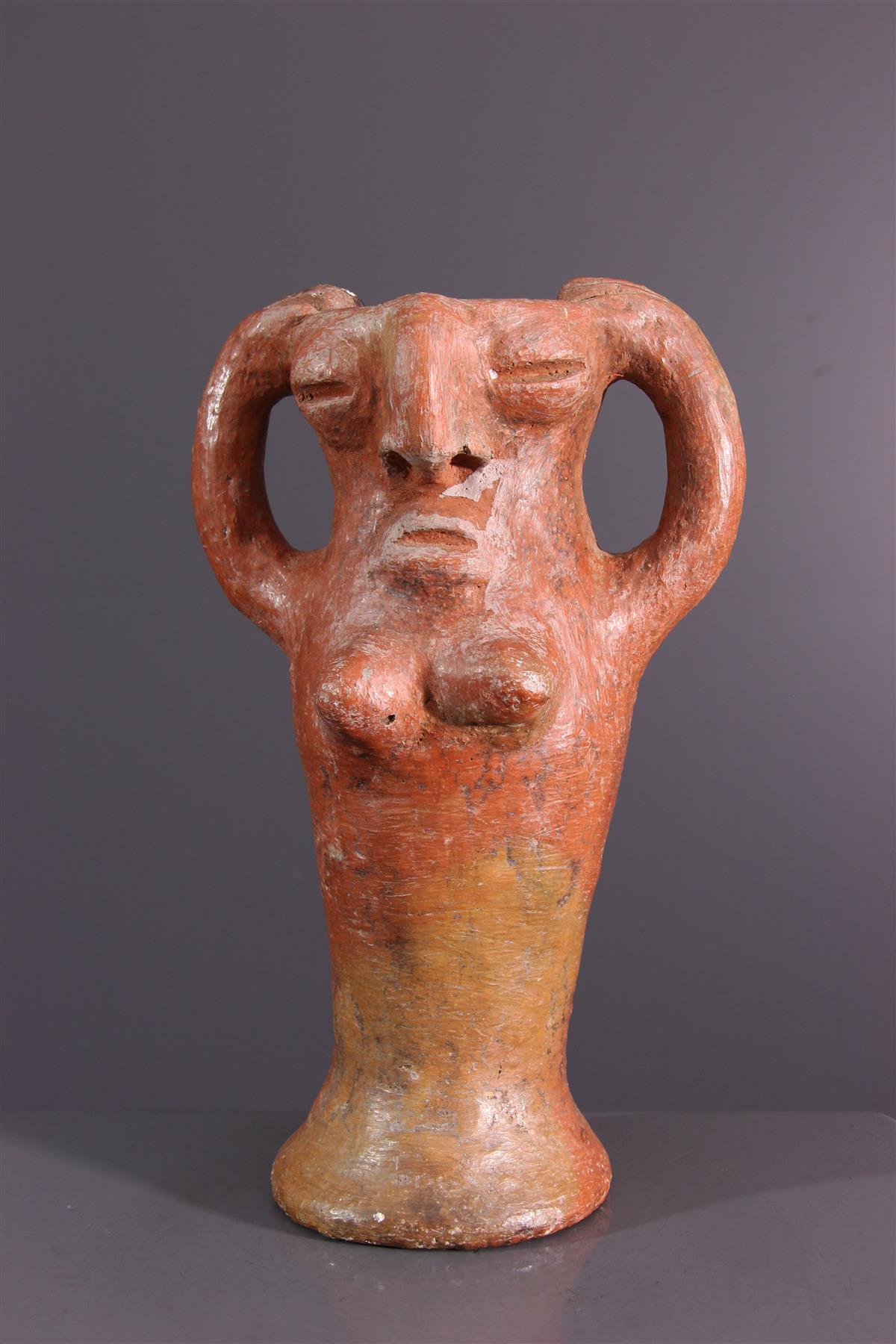 Terre cuite Bura - Art africain