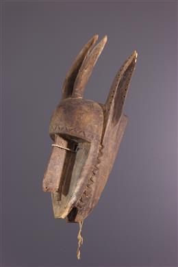 Masque zoomorphe bamana Mali