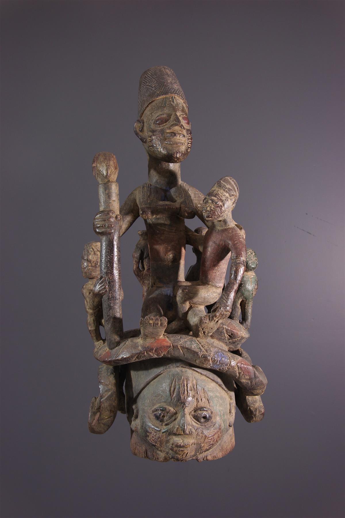 Masque Gélédé - Art africain
