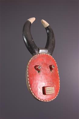 Petit masque Baoulé Kplé Kplé du Goli