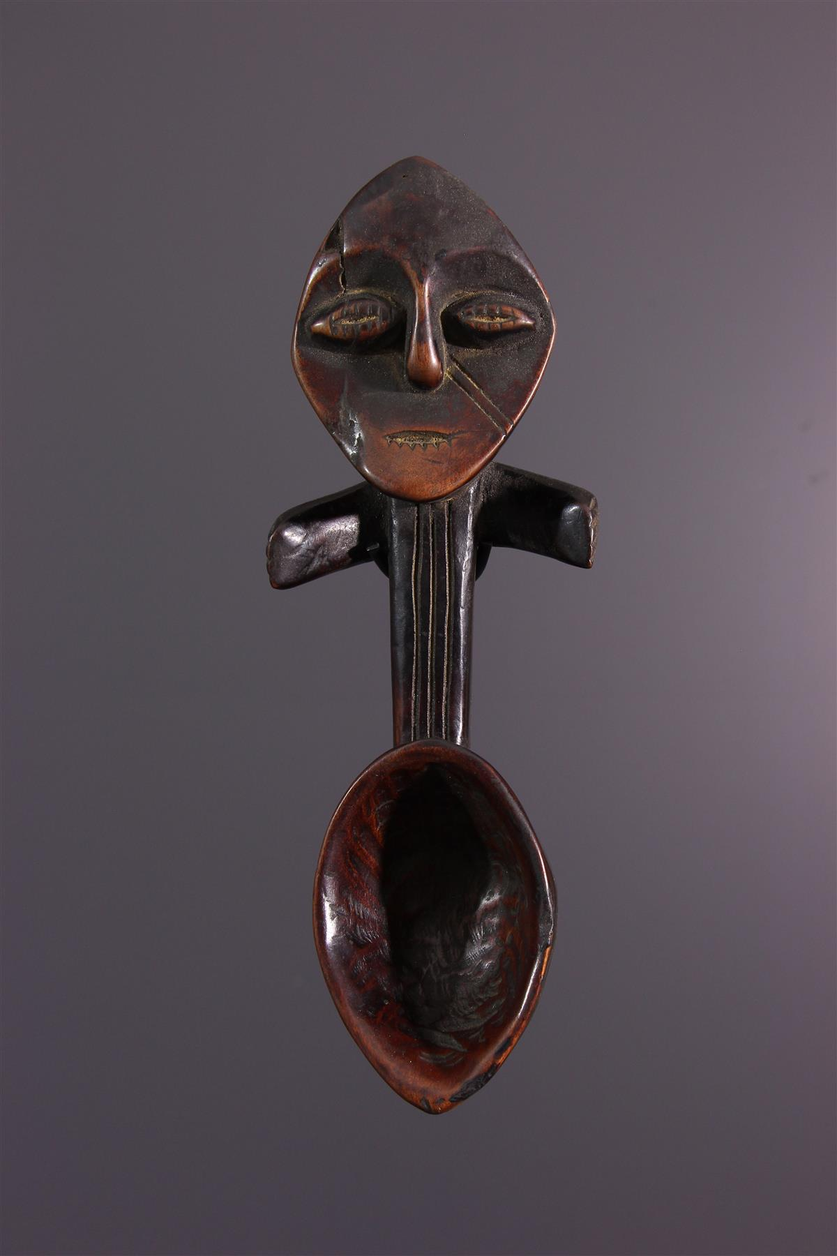 Cuillère Lega - Art africain