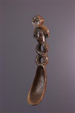 Cuillère Lega anthropozoomorphe
