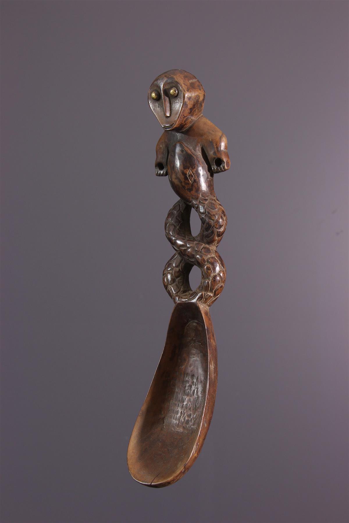 Cuillere Lega - Art africain