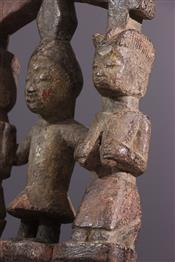 Statues africainesSceptre Shango