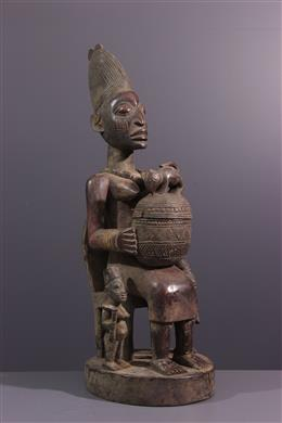 Porteuse de coupe  Agere Ifà Yoruba