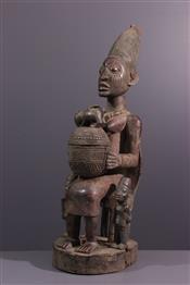 Soufflets de forgesStatue Yoruba