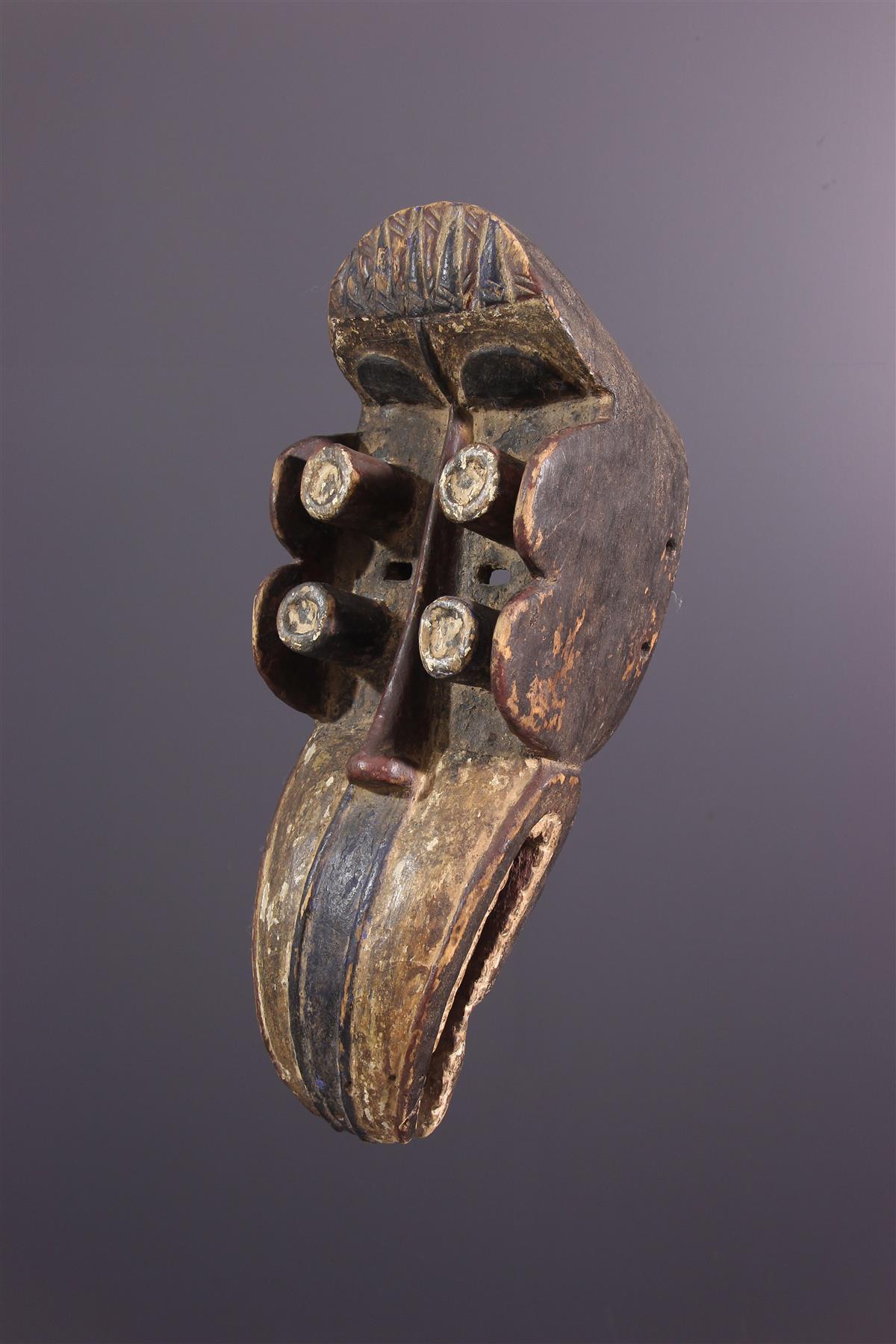Masque Dan Kru - Art africain