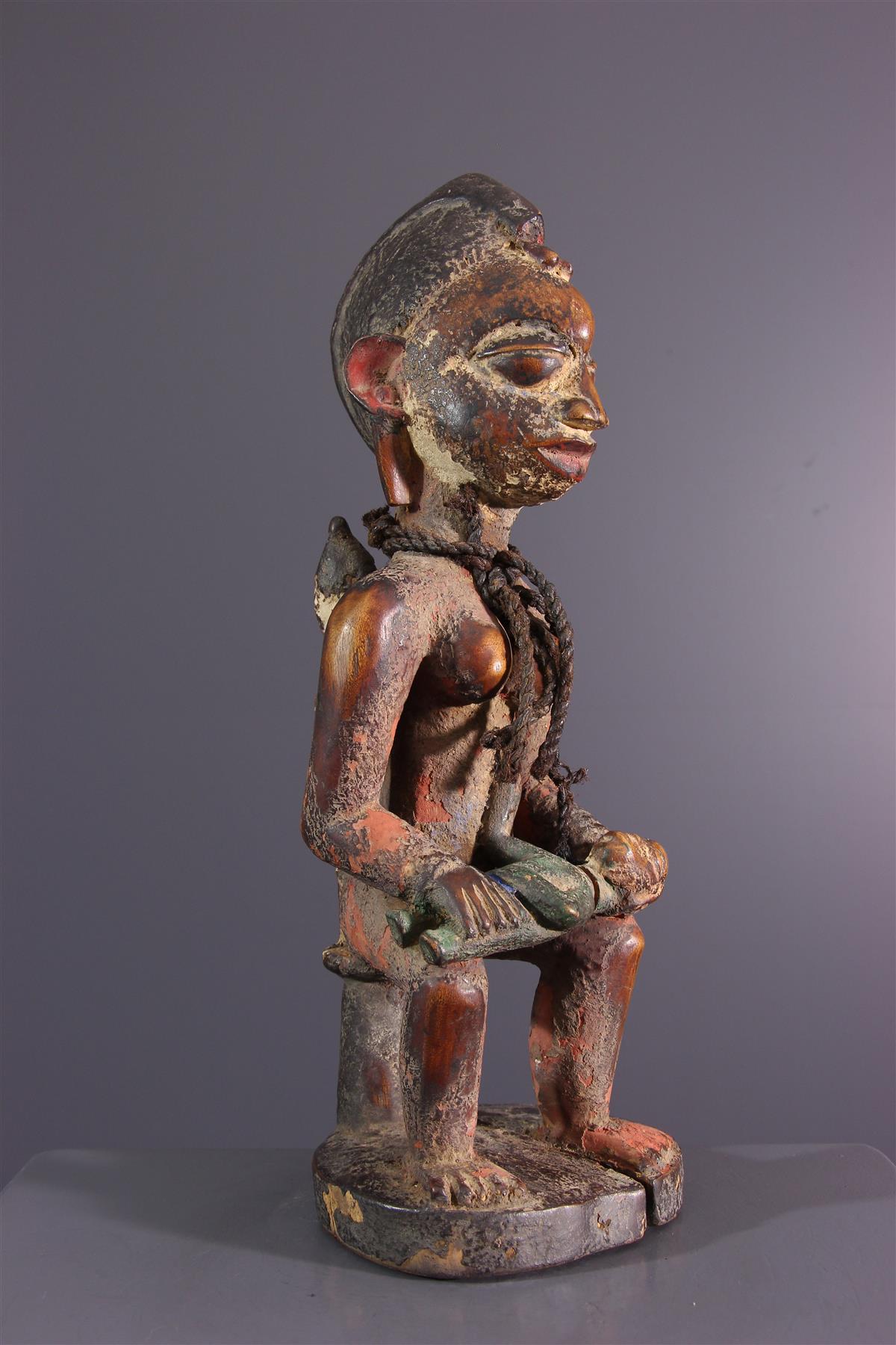 Statue Yorouba - Art africain