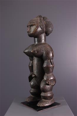 Statue féminine Attié Nkpasopi