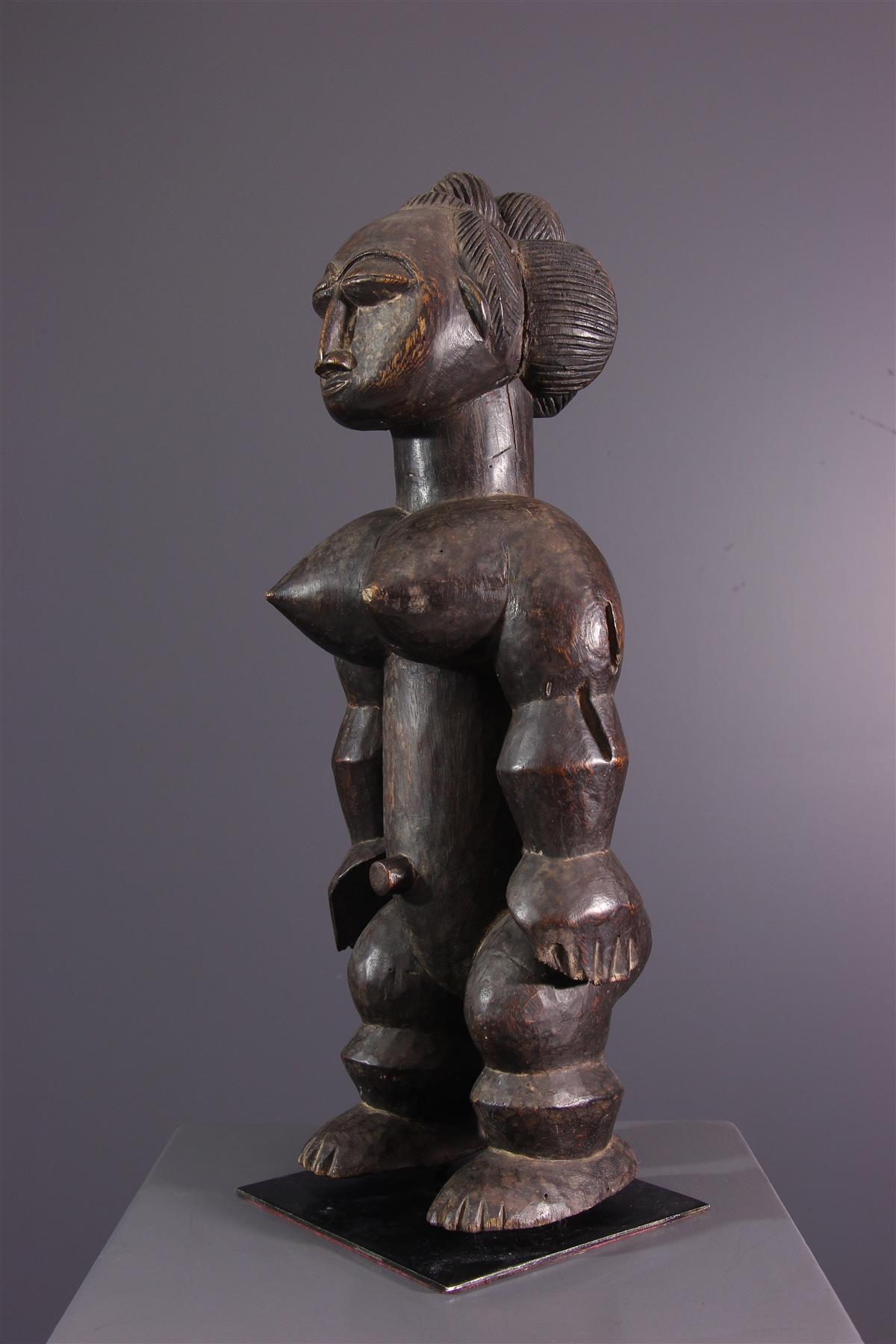 Statue Akyé - Art africain