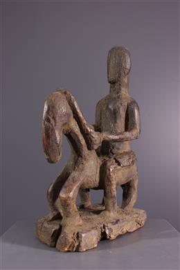 Statuette de cavalier Dogon