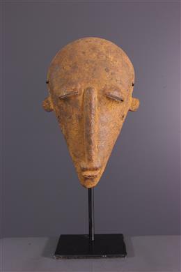 Art africain - Masque  Senoufo en fer