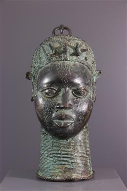 Tête commémorative reine Bénin