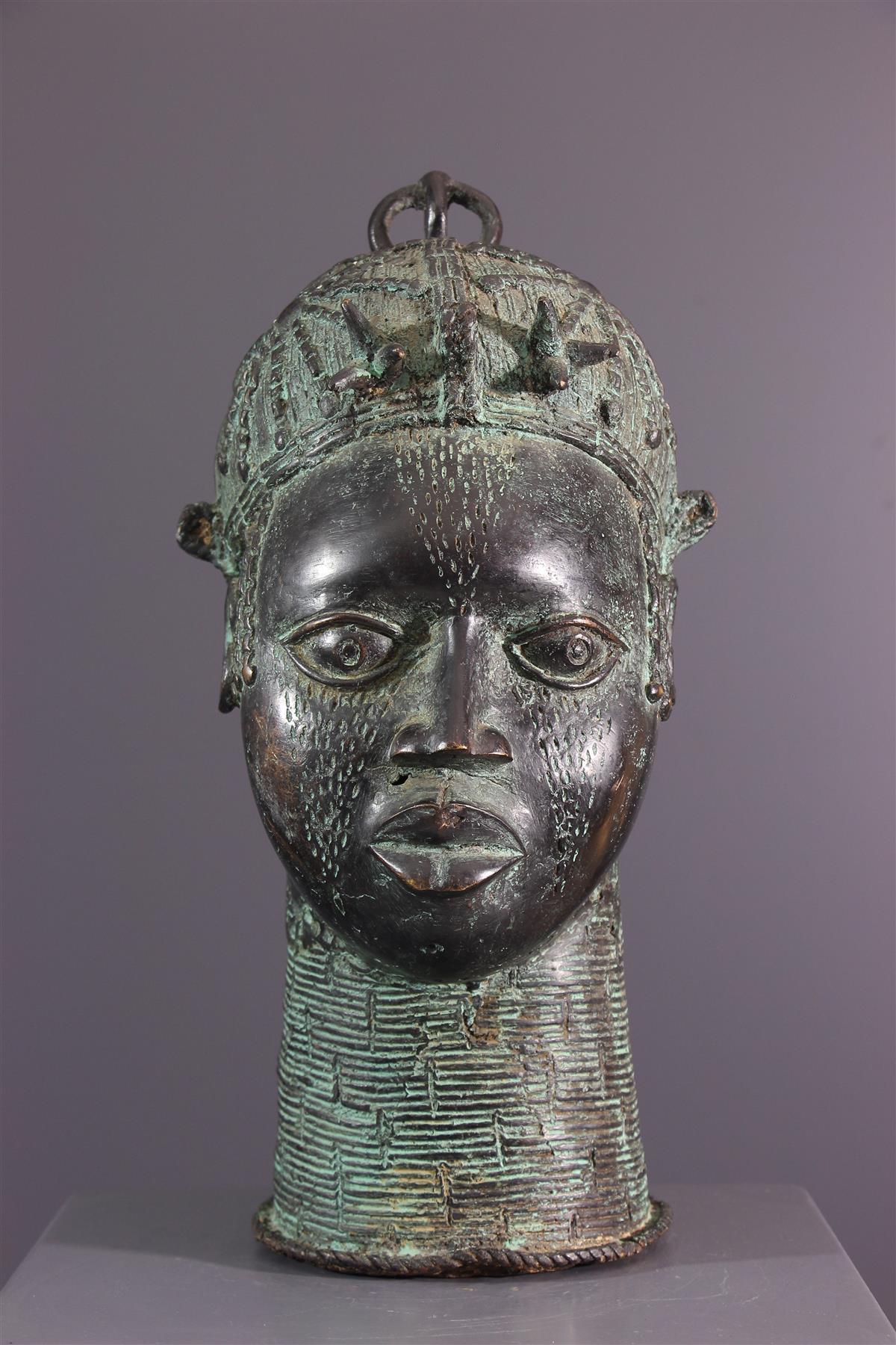 Tete Bronze - Art africain