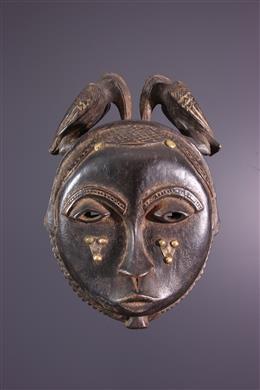 Masque lune Baoulé / Yaouré