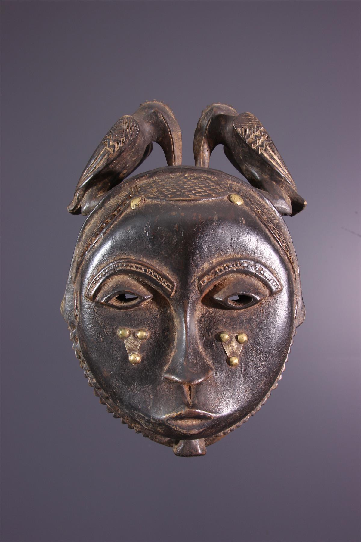 Masque Baule Yohoure - Art africain