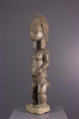 Statue Baoulé Blolo bian
