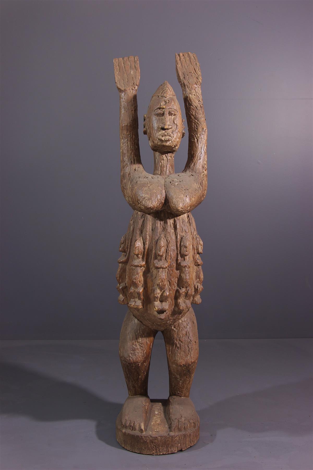Statue Tellem - Art africain