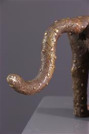 bronze africainStatue Bénin