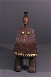 Tabourets, chaises, trônesTabouret Mangbetu