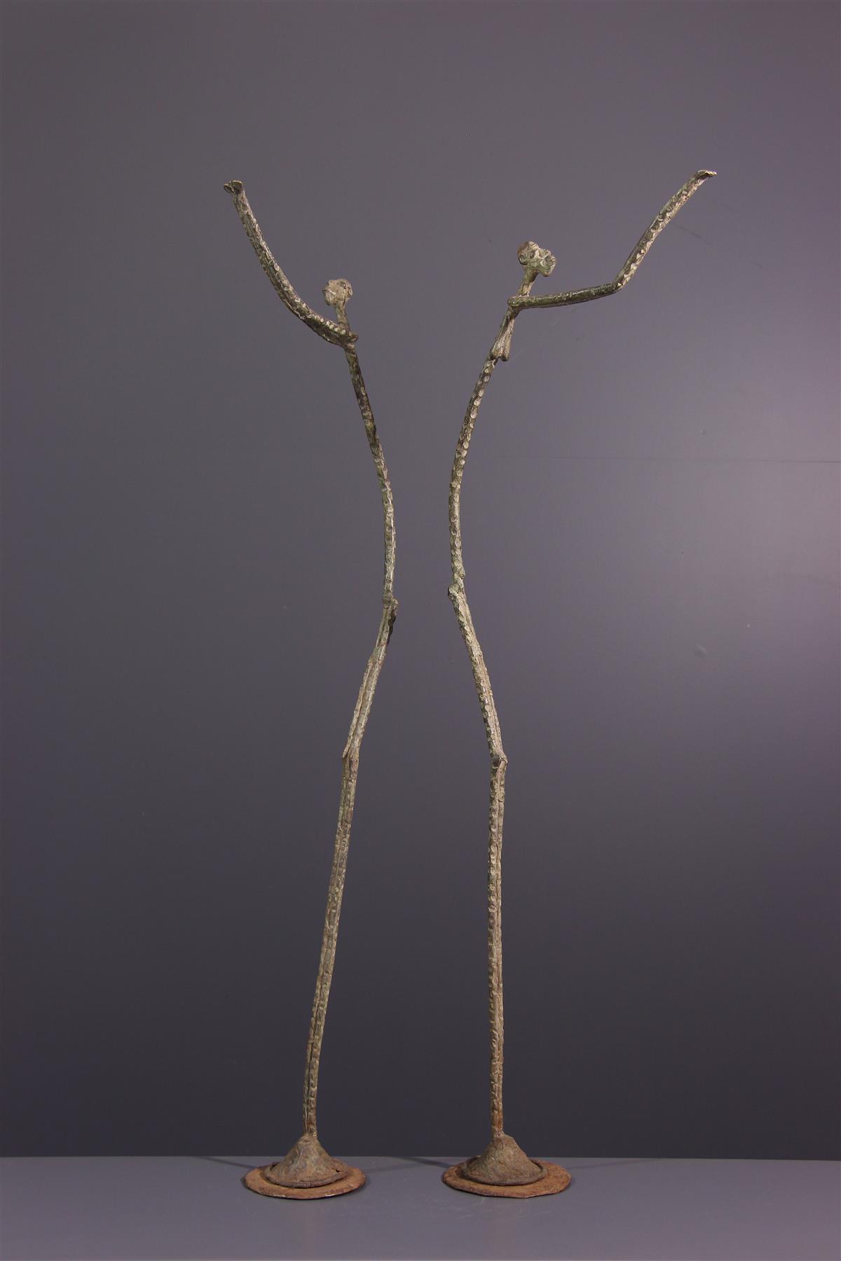 Statues bronze  - Art africain