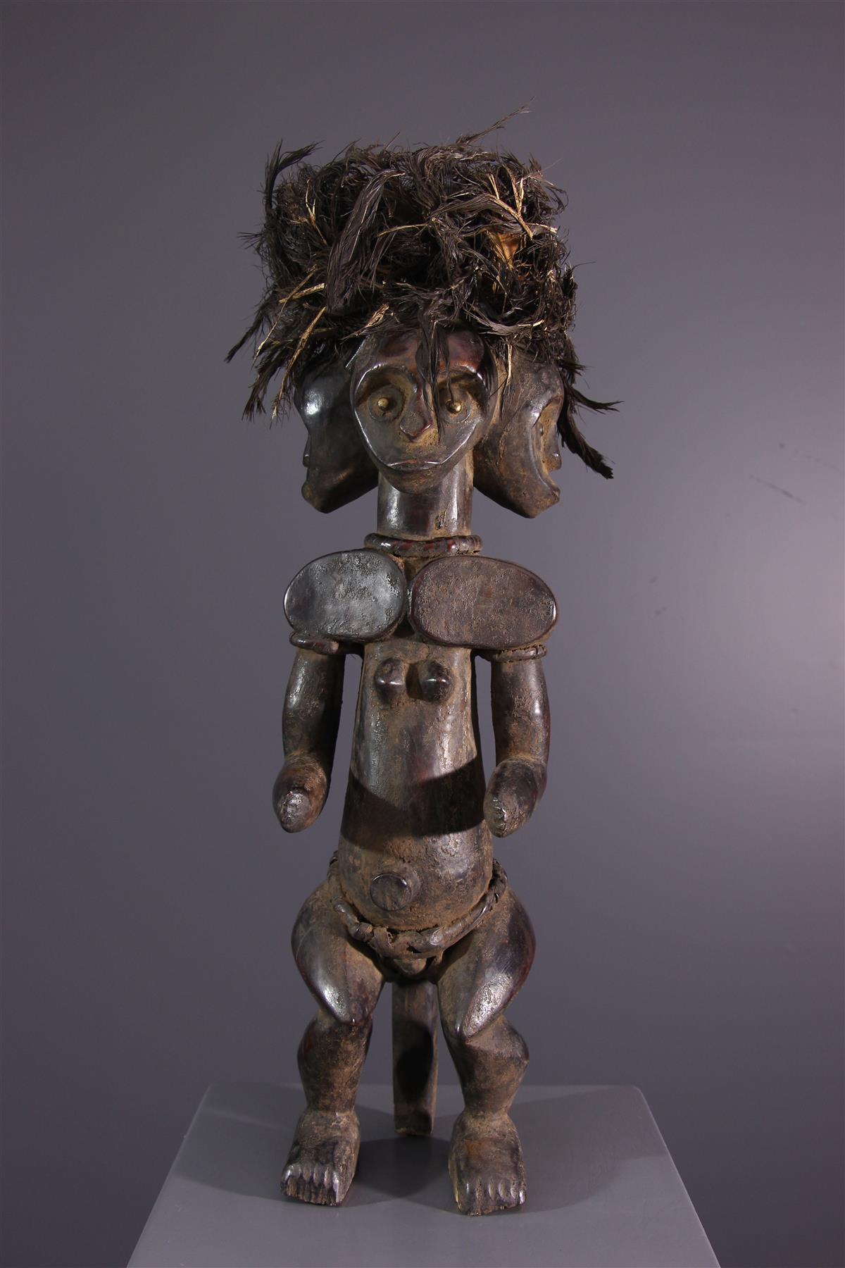 Statue du Byeri - Art africain