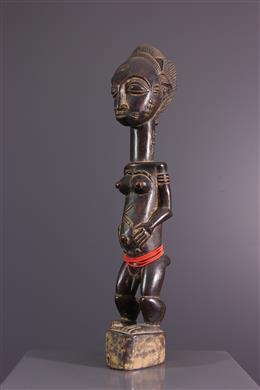 Statuette Baoulé Waka Sona Blolo Bia