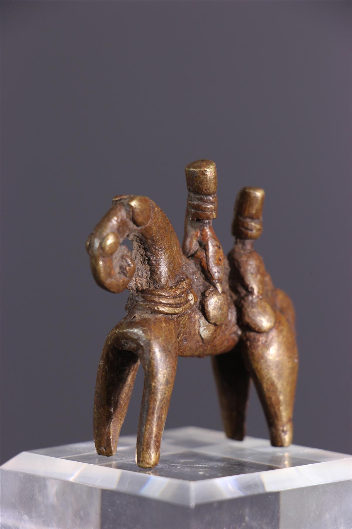 Cavalier Sao - Art africain
