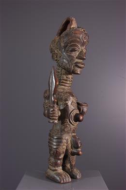 Art africain - Statue Luluwa