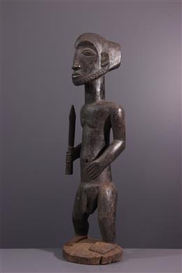 Statue d ancêtre Singiti Hemba Niembo