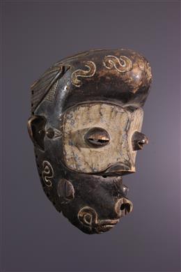 Art africain - Masque Luluwa, Lulua