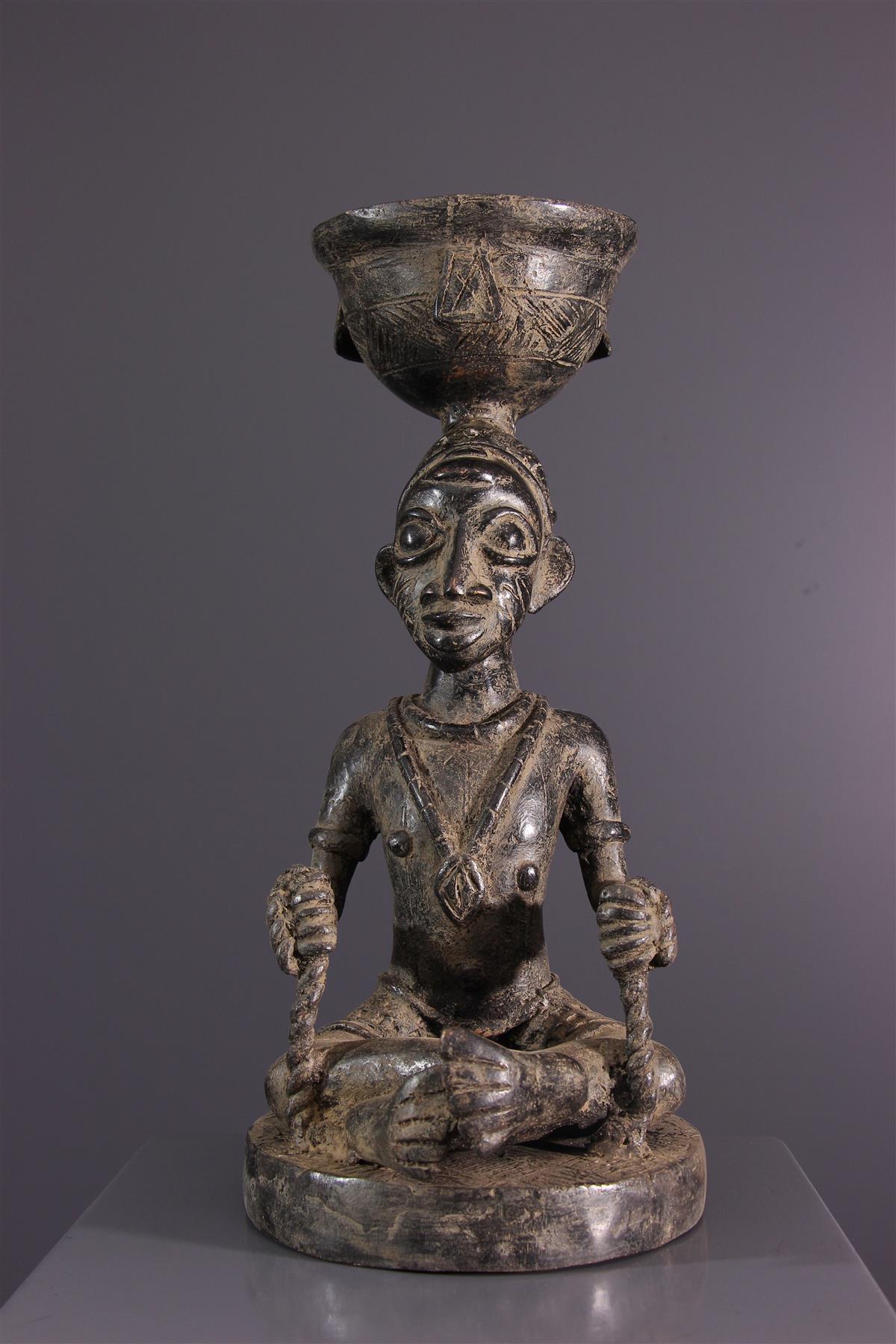 Bronze Yoruba - Art africain