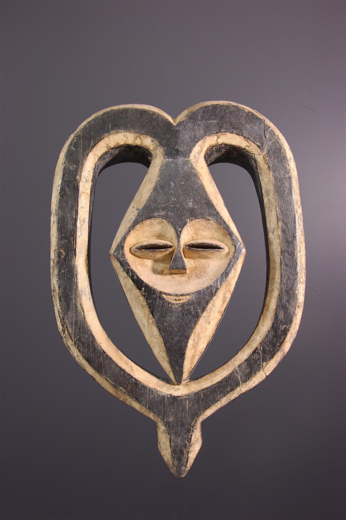 Masque Kwélé - Art africain