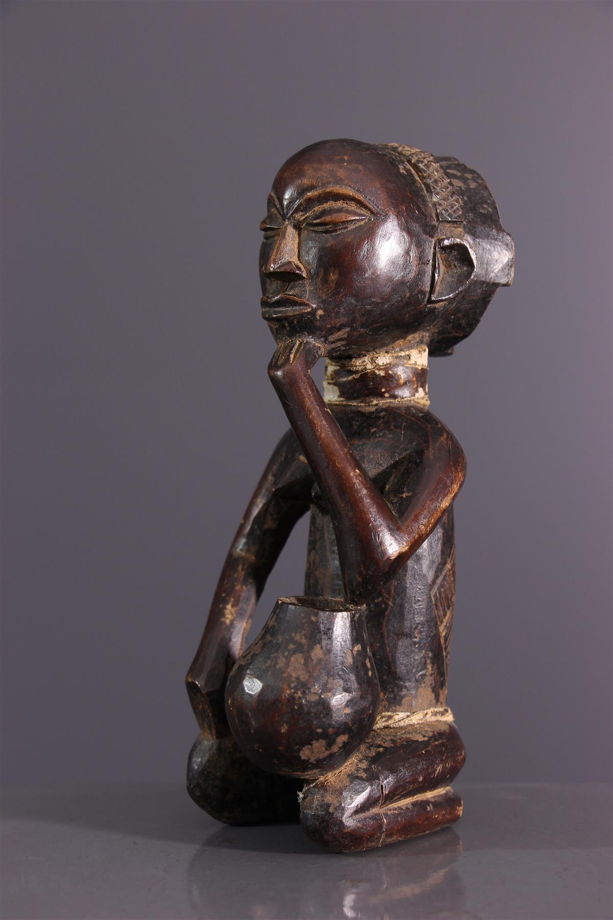 Statuette Luba - Art africain