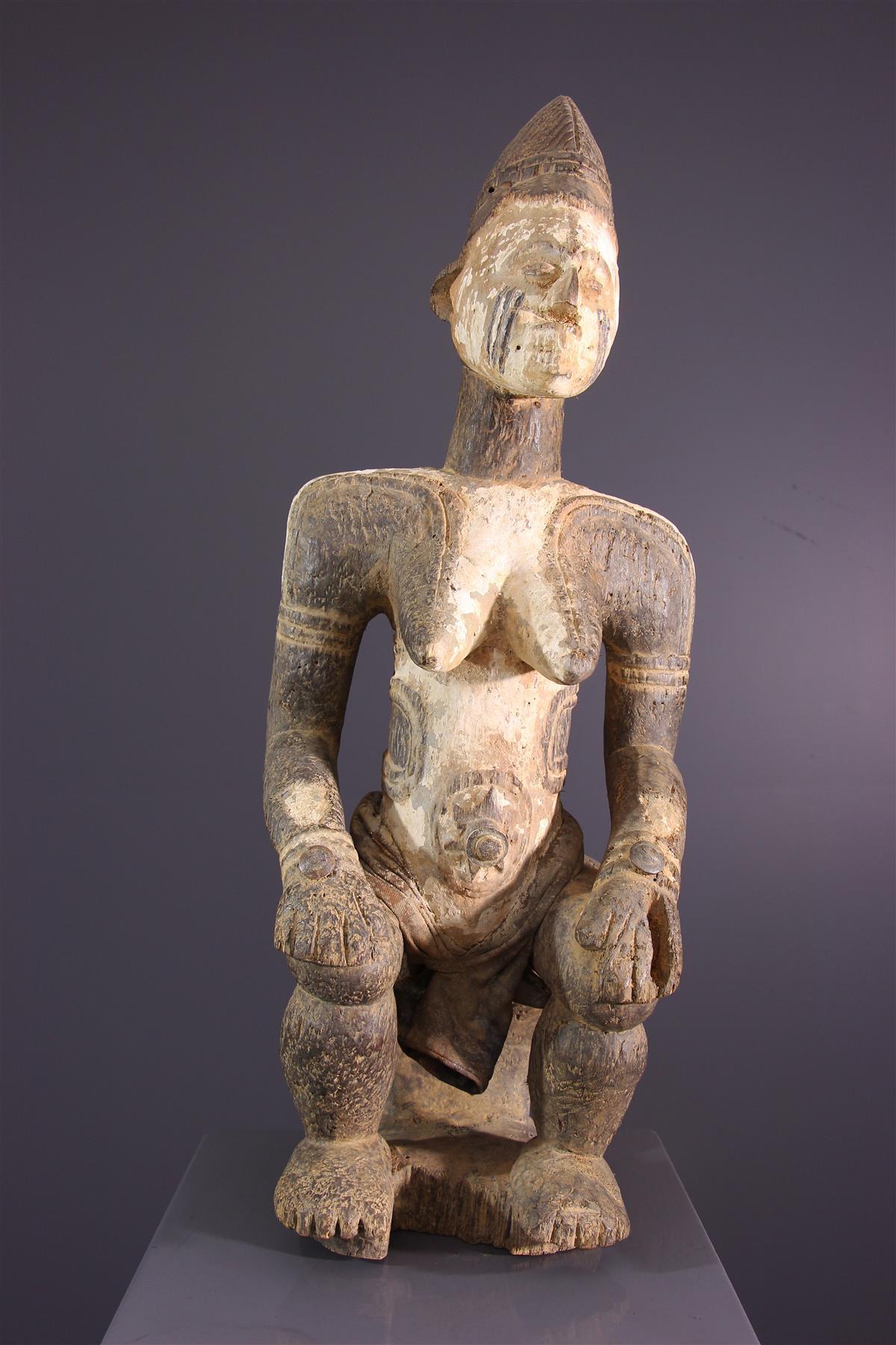 Statue Idoma - Art africain