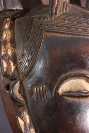 Masque africainMasque Yaouré