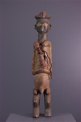 Statuette cultuelle Yaka / Suku Yiteke