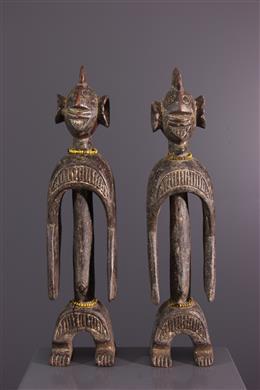 Couple de statuettes Chamba / Wurkun