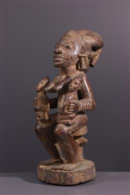 Art africain - Figure de maternité Yoruba