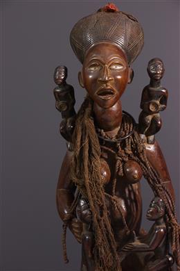 Figure de maternité Kongo Yombe Phemba