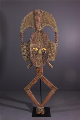 Grande figure de reliquaire Kota Obamba