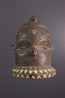 Art africain - Masque Pende Kipoko, Mbundju