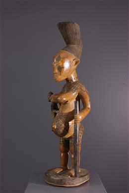 Statue d ancêtre Mangbetu Beli