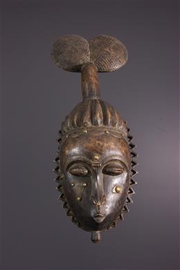 Grand masque Baoulé, Baule, Ndoma