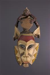 Masque africainMasque Zaouli