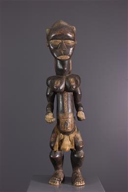 Statue masculine Dan Côte d Ivoire